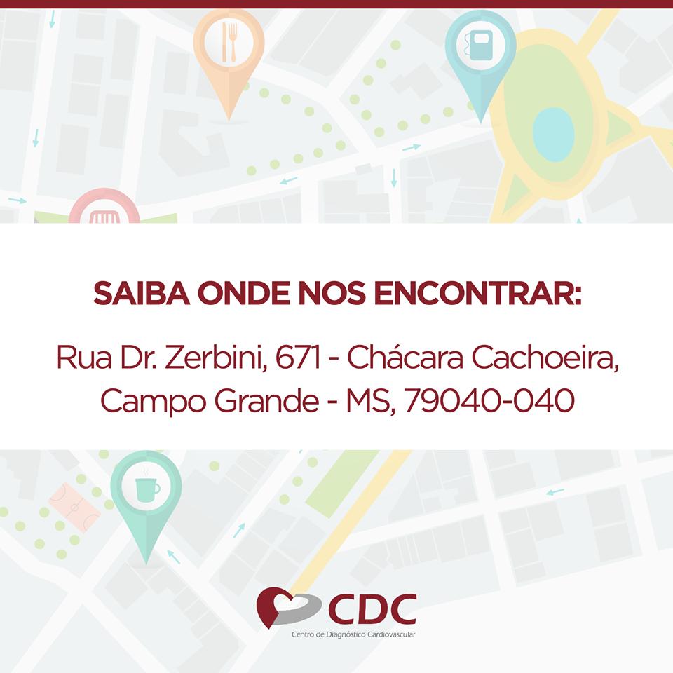 localização clinica cdc centro diagnóstico cardiovascular