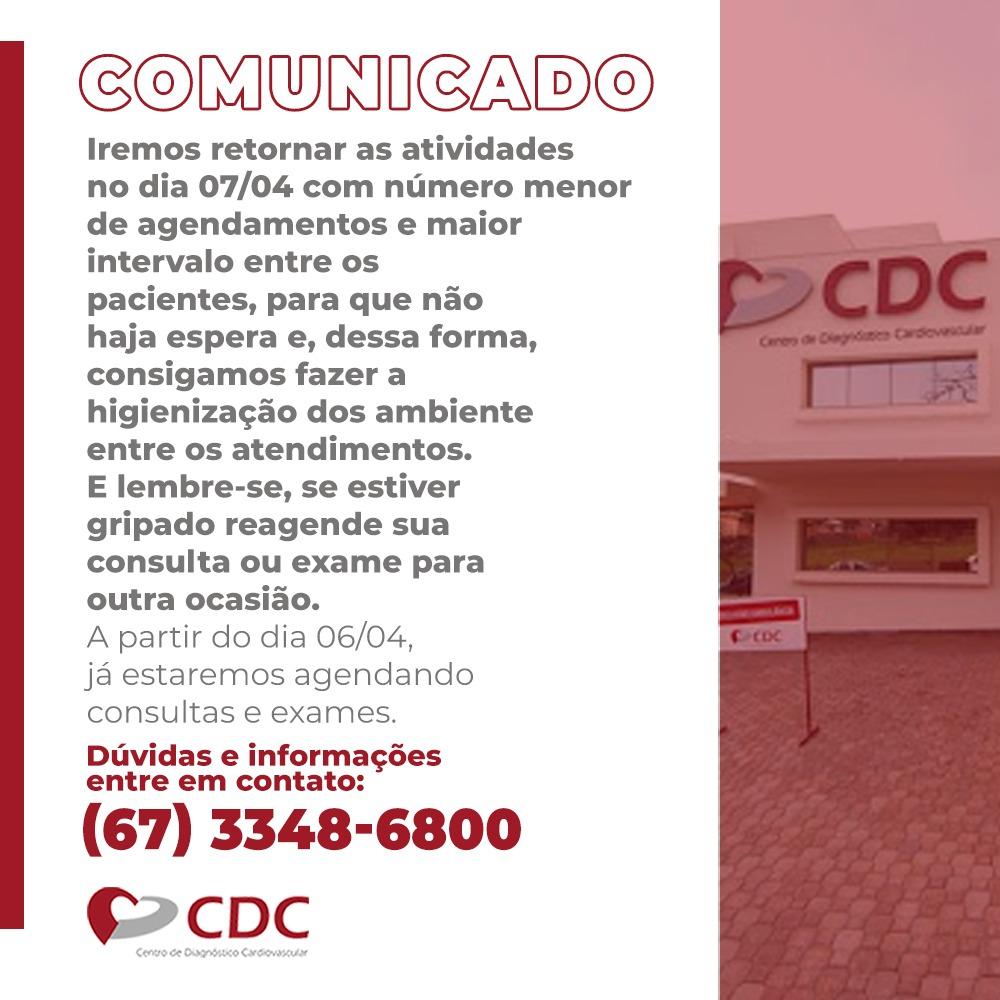Comunicado-Clinica-CDC-Retorno-Atendimento