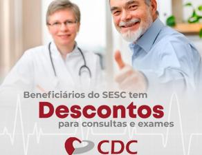 A Clínica CDC agora atende beneficiários do SES